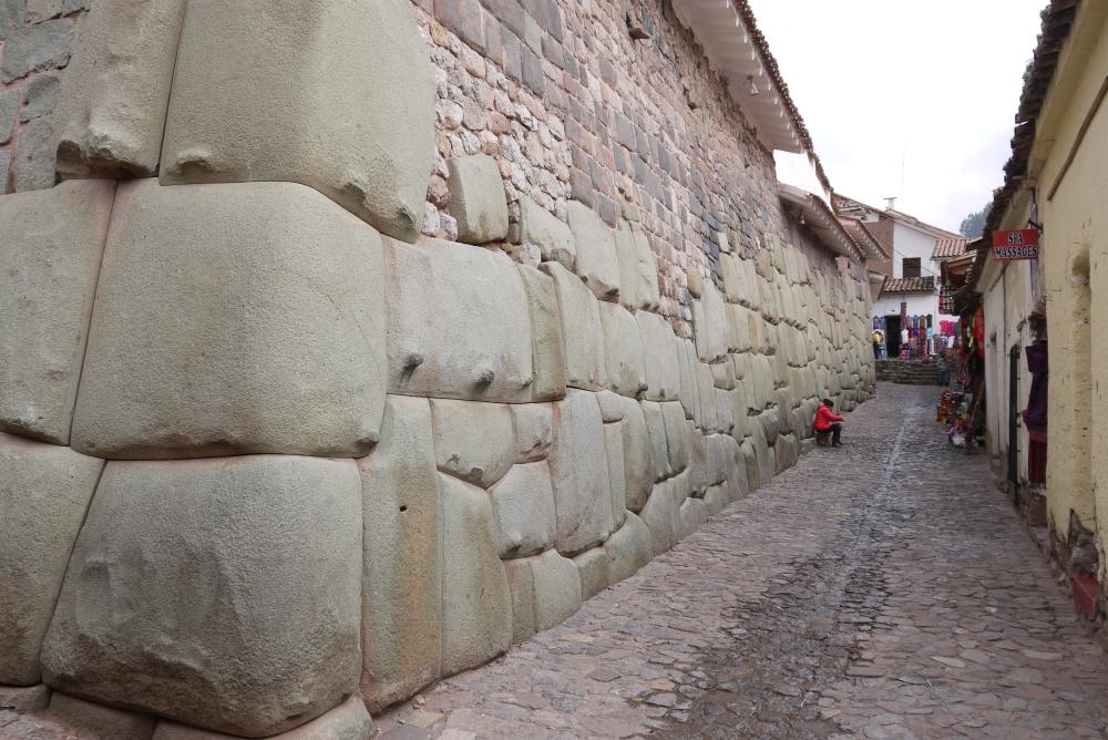 Inca stonework visited (2/6)