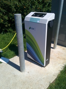Petersfield Chargepoint unit