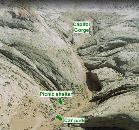 Capitol Gorge 2
