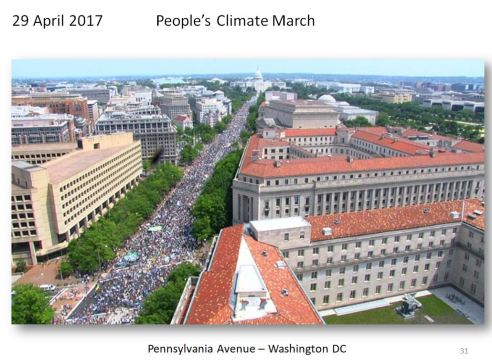 People's Climate March Washington