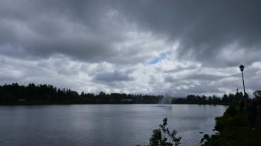 Downpour imminent